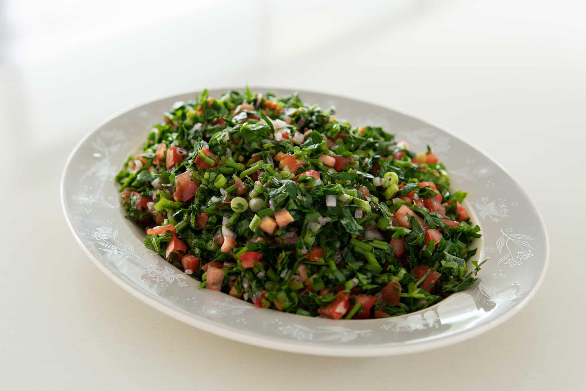 Tabouli, Salad, Paleo, Organic Produce