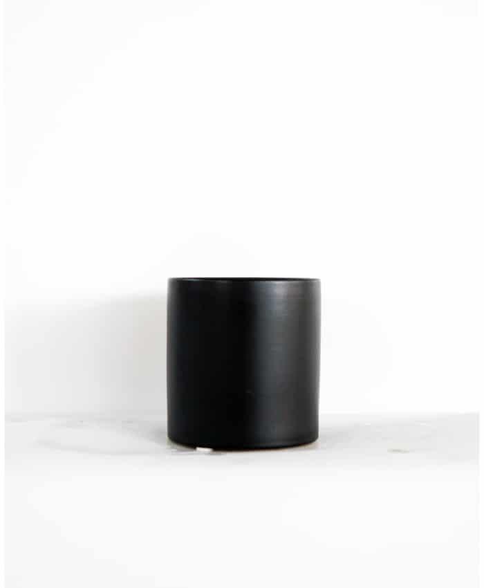 Ceramic Pot, 10cm, Black