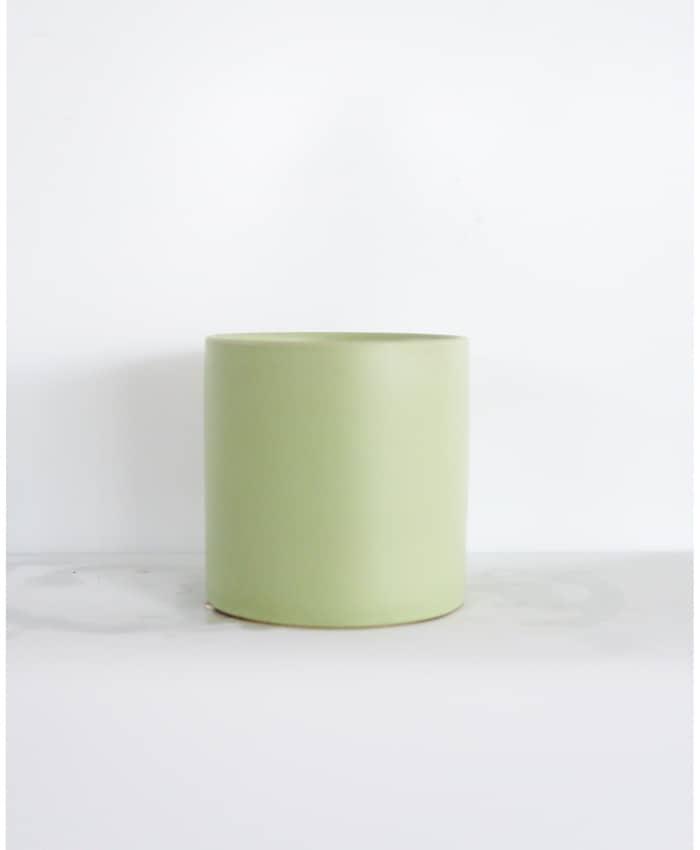 Ceramic Pot, 12cm, Sage