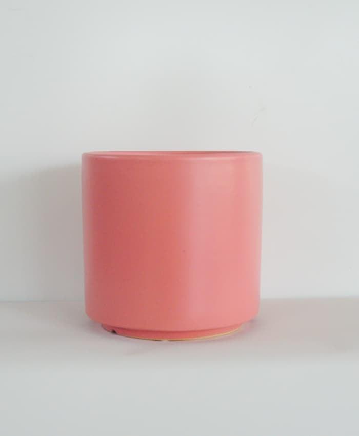Ceramic Pot, 15cm Planter, Red Earth