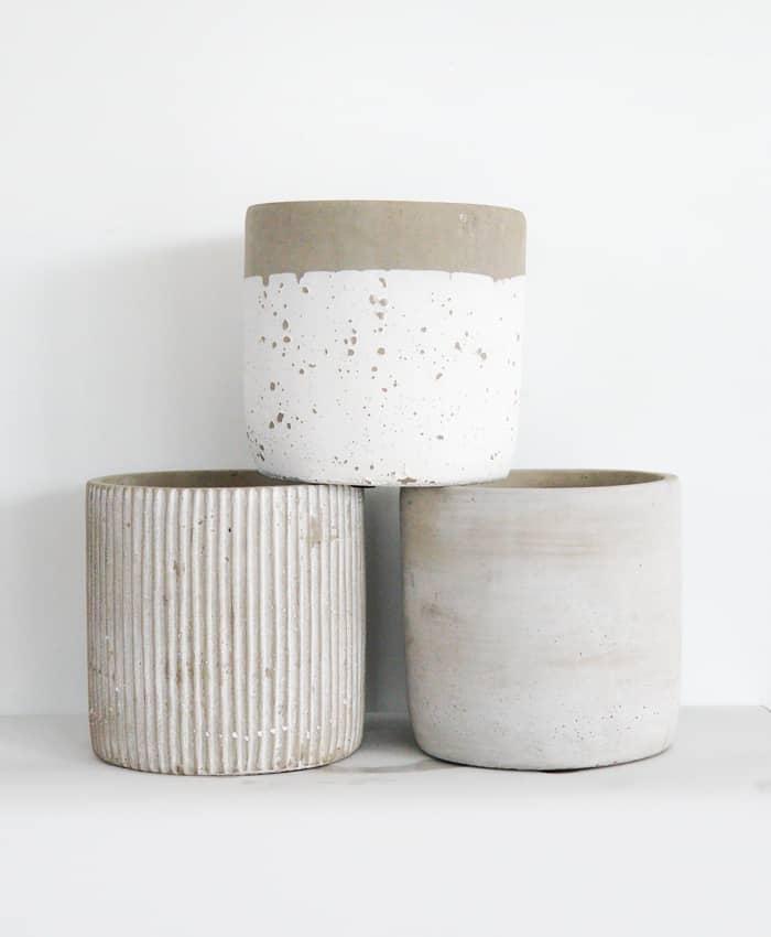 Concrete Pot 14cm